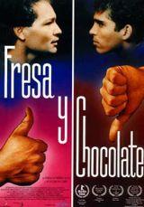 Affiche Fraise et chocolat