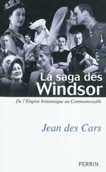 Couverture La saga des Windsor