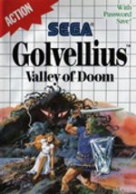 Jaquette Golvellius : Valley of Doom