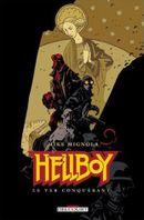 Couverture Le Ver conquérant - Hellboy, tome 6
