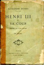 Couverture Henri III et sa cour