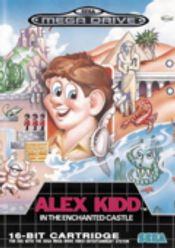 Jaquette Alex Kidd in the Enchanted Castle