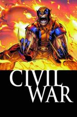 Couverture Civil War - Wolverine (2003), tome 8