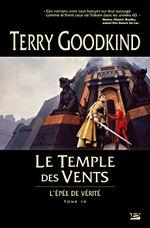 Couverture Le Temple des vents - L'Épée de vérité, tome 4