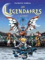 Couverture Le Gardien - Les Légendaires, tome 2