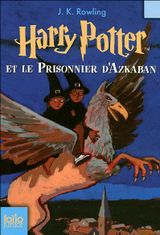 Couverture Harry Potter et le Prisonnier d'Azkaban - Harry Potter, tome 3