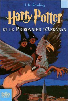 Couverture Harry Potter et le Prisonnier d'Azkaban