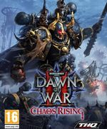 Jaquette Warhammer 40,000 : Dawn of War II - Chaos Rising