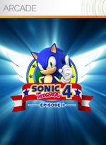 Jaquette Sonic the Hedgehog 4 : Episode 1