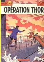 Couverture Opération Thor - Lefranc, tome 6
