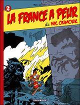 Couverture La France a peur de Nic Oumouk - Nic Oumouk, tome 2