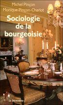 Couverture Sociologie de la bourgeoisie