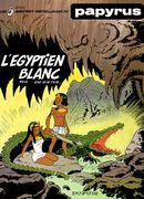 Couverture L'Egyptien Blanc - Papyrus, tome 5
