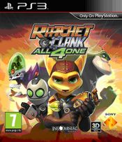 Jaquette Ratchet & Clank : All 4 One