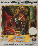 Jaquette Advanced Dungeons & Dragons : Dragons of Flame