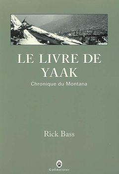 Couverture Le livre de Yaak