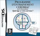 Jaquette Programme d'Entraînement Cérébral du Dr Kawashima : Quel âge a votre cerveau ?