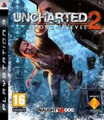 Jaquette Uncharted 2: Among Thieves