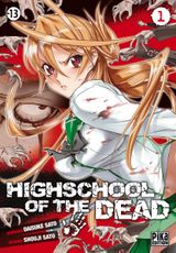 Couverture Highschool of the Dead