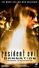 Affiche Resident Evil : Damnation
