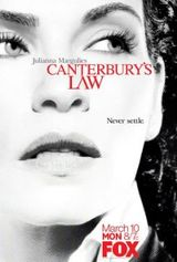 Affiche La loi de Canterbury