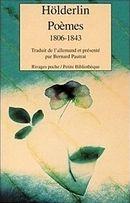 Couverture Poèmes 1806-1843