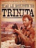 Affiche T'as le bonjour de Trinita