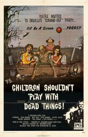 Affiche Children Shouldn't Play With Dead Things