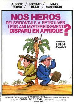 Affiche Nos héros réussiront-ils à retrouver leur ami mystérieusement disparu en Afrique ?