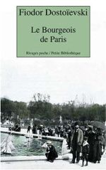 Couverture Le bourgeois de Paris
