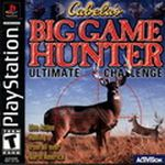 Jaquette Cabela's Big Game Hunter: Ultimate Challenge