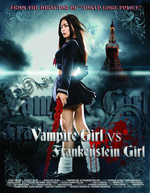 Affiche Vampire Girl vs. Frankenstein Girl