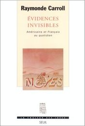 Couverture Evidences invisibles