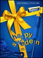 Affiche Happy Sweden