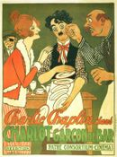 Affiche Charlot garçon de café