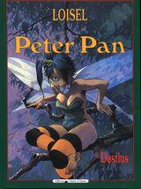 Couverture Destins - Peter Pan (Vents d'Ouest), tome 6