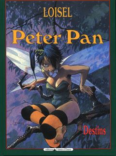 Couverture Destins - Peter Pan (Vents d'Ouest), tome 6