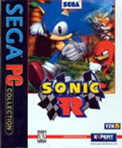 Jaquette Sonic R