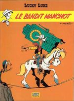 Couverture Le Bandit manchot - Lucky Luke, tome 48