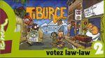 Couverture Votez Law-Law - Tiburce, tome 2