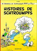 Couverture Histoires de Schtroumpfs - Les Schtroumpfs, tome 8