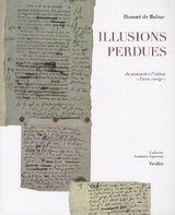 """Couverture Illusions perdues : du manuscrit à l'édition """"Furne corrigé"""""""