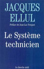 Couverture Le système technicien