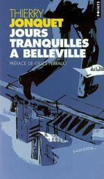 Couverture Jours tranquilles à Belleville