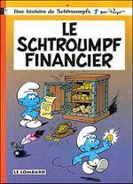 Couverture Le Schtroumpf financier - Les Schtroumpfs, tome 16