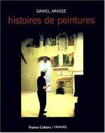 Couverture Histoires de peintures