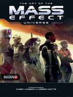 Couverture The Art of the Mass Effect Universe