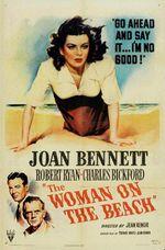 Affiche La femme sur la plage