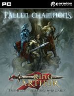 Jaquette King Arthur: Fallen Champions