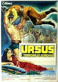 Affiche Ursus la terreur des Kirghiz